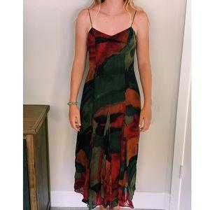 Vintage Christine Albers 100% Silk dress